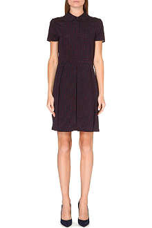 TORY BURCH Kendra stretch-silk shirt dress