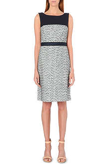 TORY BURCH Lucille tweed shift dress