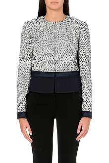 TORY BURCH Lucille metallic tweed jacket