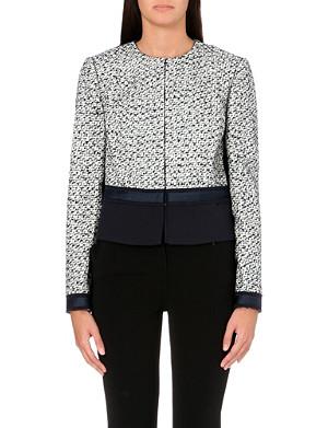 TORY BURCH Lucille metallic tweed jacket