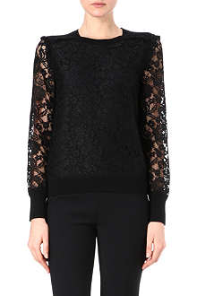 TORY BURCH Lace top