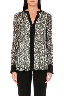 TORY BURCH Tessica silk printed top