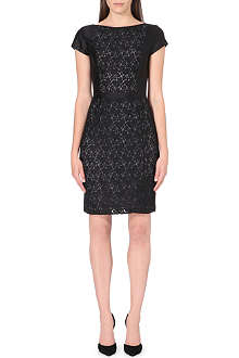 TORY BURCH Mariana lace panel dress
