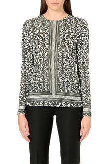 TORY BURCH Jasmine floral blouse