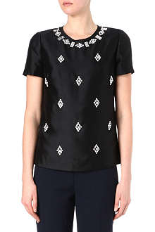 TORY BURCH Vesper silk top