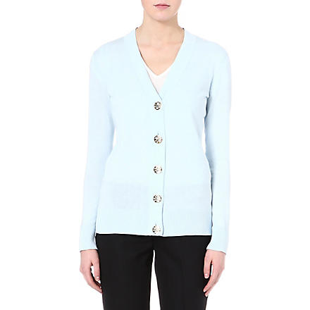 TORY BURCH Simone knitted cardigan (Whirlpool