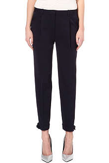 TORY BURCH Anais bow-embellished trousers