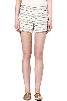 TORY BURCH Tweed shorts