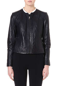 TORY BURCH Keisha leather biker jacket