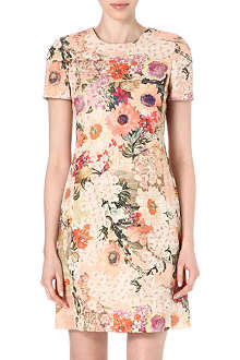 TORY BURCH Floral-print tunic dress