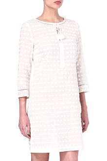 TORY BURCH Ollie embroidered dress