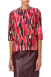 JONATHAN SAUNDERS Abbey printed top