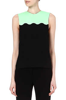 JONATHAN SAUNDERS Scallop-detail top