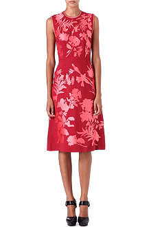 JONATHAN SAUNDERS Alinford floral-appliqué dress