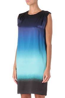 JONATHAN SAUNDERS Ombré silk-satin dress