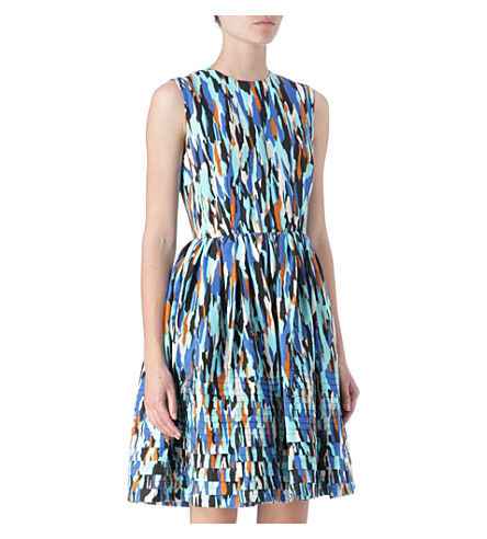 JONATHAN SAUNDERS Lou Rivet dress (Pollock/aqua/bronze