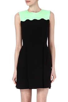 JONATHAN SAUNDERS Scallop-detail dress