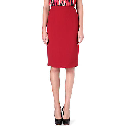 JONATHAN SAUNDERS Axel pencil skirt (Red
