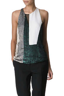 3.1 PHILLIP LIM Sequined cocktail top