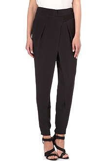 3.1 PHILLIP LIM Cross-over silk-crepe trousers