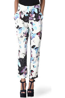 3.1 PHILLIP LIM Printed silk trousers