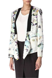 3.1 PHILLIP LIM Silk floral jacket
