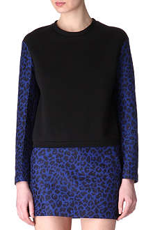 3.1 PHILLIP LIM Jacquard-sleeves sweatshirt