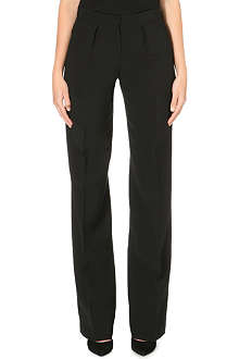 ISSA Wide leg high-waisted trousers