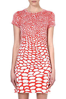 ISSA Pebble print dress