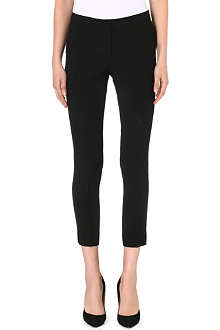 ISSA Rita classic slim-fit trousers