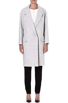 ISSA Robin wool-blend coat