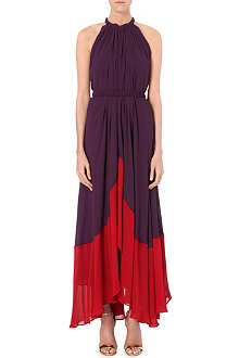 SALONI Iris crepe dress