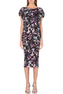 SALONI Aspara Cloudbreaker midi-dress