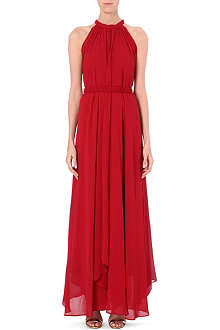 SALONI Irina crepe dress