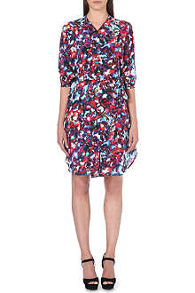 SALONI Jessabel printed silk dress
