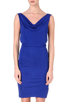 SALONI Cowl neck dress