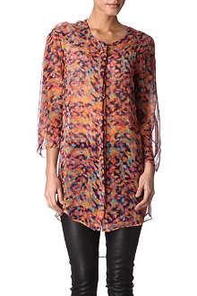 SALONI Printed shirt