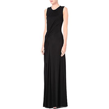 SALONI Emma maxi dress (Black