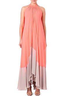 SALONI Iris gathered maxi dress