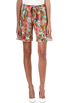 SALONI Loretta silk shorts