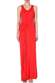 SALONI Nina split maxi dress