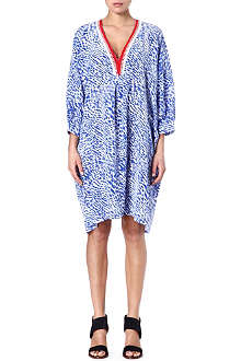 SALONI Silk oversized dress