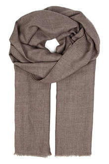 AGNONA Cashmere and silk scarf