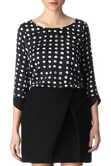 KELLY WEARSTLER Atlantis printed top