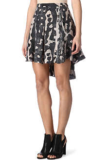 KELLY WEARSTLER Atlantis-print flip skirt