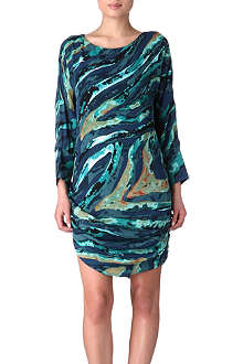 KELLY WEARSTLER Printed silk dress