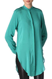 KELLY WEARSTLER Silk tunic shirt