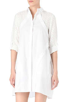MAIYET Panelled shirt dress