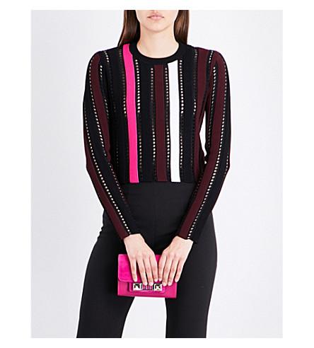 PROENZA SCHOULER Striped knitted top (Multi