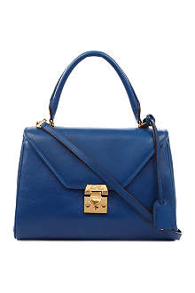 MARK CROSS Small leather satchel
